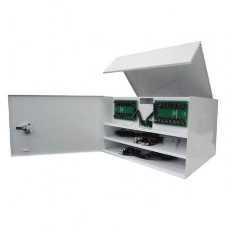 Rack Para CFTV Max Eletron Manager Box Light 2/16 HD