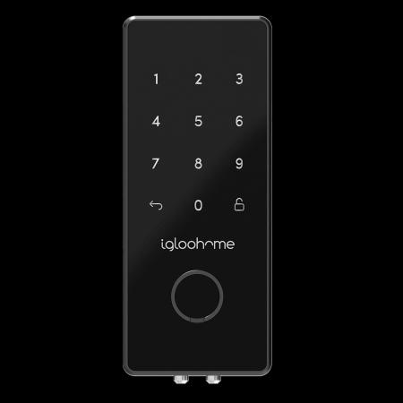 Fechadura Digital Igloohome Deadbolt 2S Metal grey com abertura pelo Celular (Certificada AirBnb)