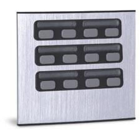 Módulo Externo de 12 Botões Duplo 12 para Porteiros Coletivos HDL
