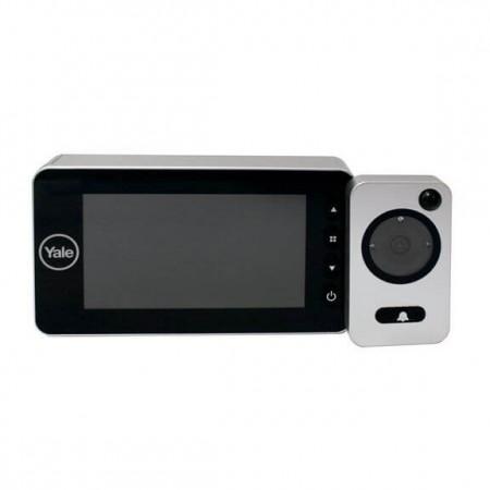 Olho Mágico Digital com Câmera Yale Prata Auto Imaging JY7043