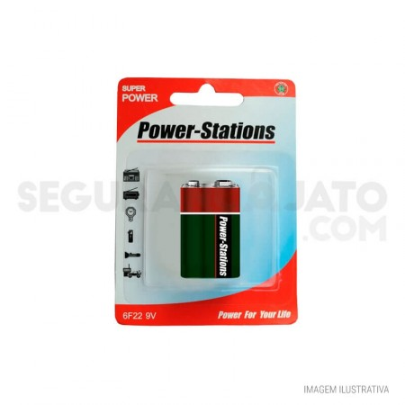 Bateria 9V Power Stations