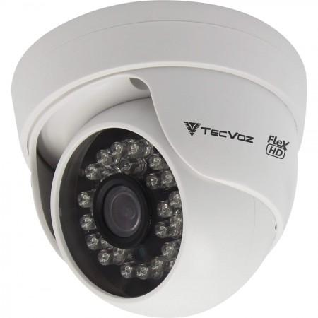 Câmera Dome Flex HD TecVoz CDM-128P Infravermelho 25m
