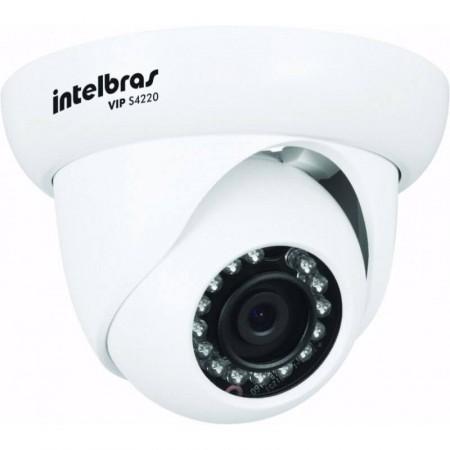 Câmera Dome IP FULL HD Intelbras VIP S4220 Infravermelho 20m