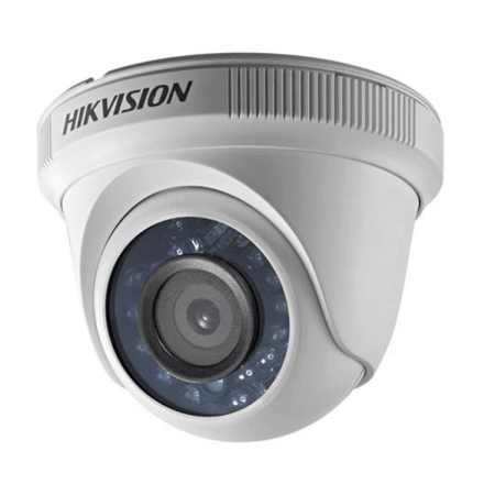 Câmera Dome Turbo HD Hikivision DS-2CE56C0T-IR