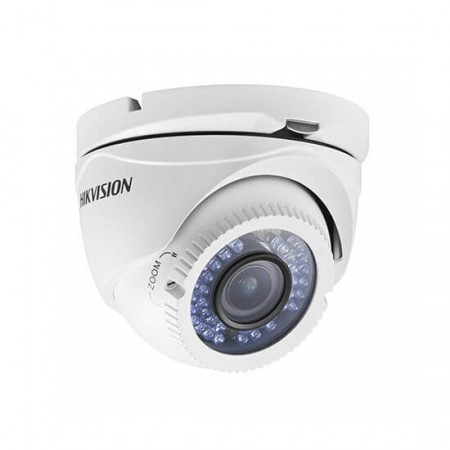 Câmera Dome Turbo HD Hikvision DS-2CE56D1T-VFIR3 Varifocal 2.8-12mm