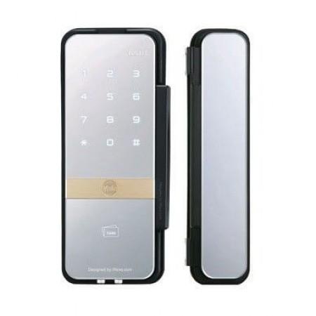 Fechadura Digital p Porta Dupla de Vidro YDG 313 vidro vidro