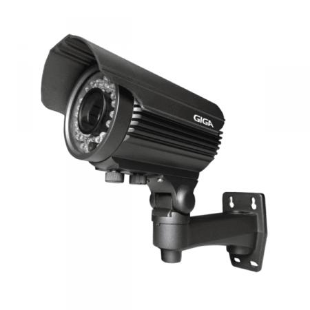 Câmera de Segurança IP 40m GIGA GS IP2000TVP Preta