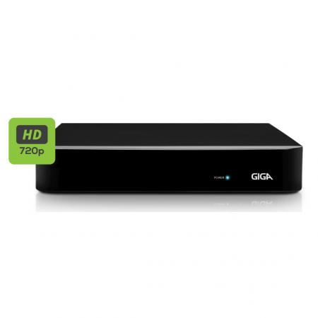 Gravador Digital de Vídeo Híbrido 4 Canais GIGA HVR GS 16 OPEN HD