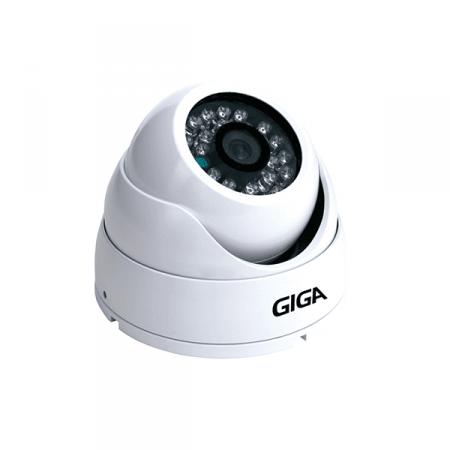 Câmera Dome AHD Plus Infravermelho 20m GIGA GS HDP20TB