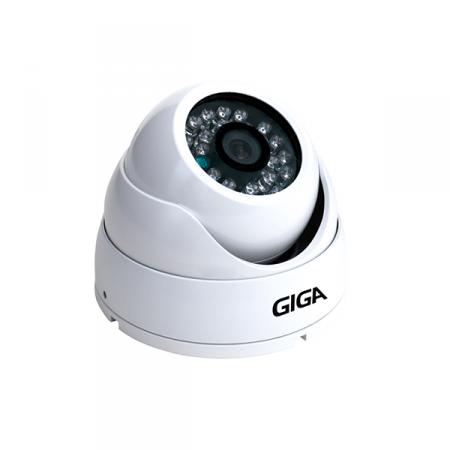Câmera Dome Infravermelho 30m AHD Plus Giga GSHDP30DB28