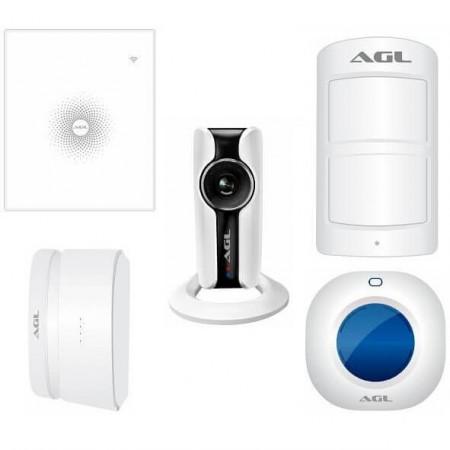 Kit AGL AW Plus Central de Alarme Sem Fios