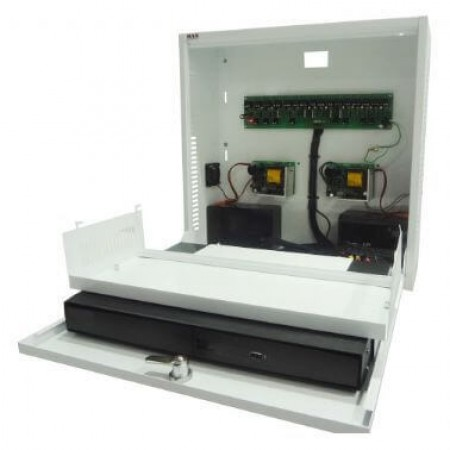 Rack CFTV Light Vertical 4 Canais Max Eletron