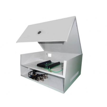 Rack Para CFTV Max Eletron Manager Box Mini Light HD 8 Canais