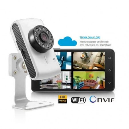 camera multilaser ip SE 137 completa