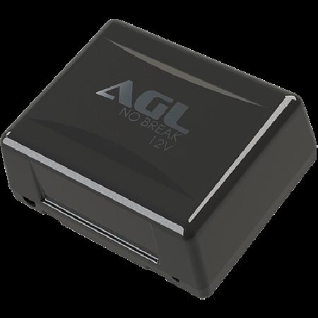 Suporte Fechadura eletroímã AL150 AGL para porta de vidro branca
