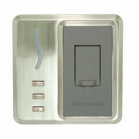 Controlador de Acesso Biometrico Automatiza Bio Inox SS310