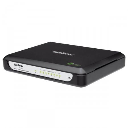 Switch 8 Portas Gigabit Intelbras Ethernet SG800C 10_100_1000 Mbps