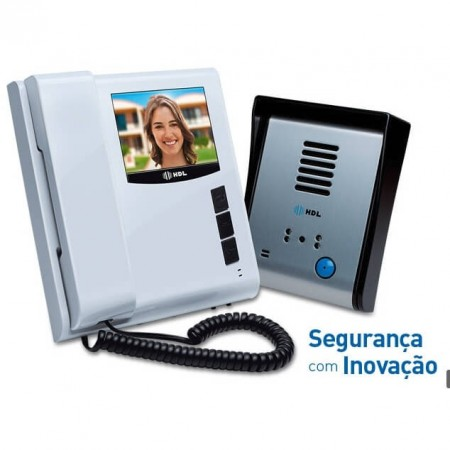 Vídeo Porteiro HDL com tela Touch screen SENSE Light S