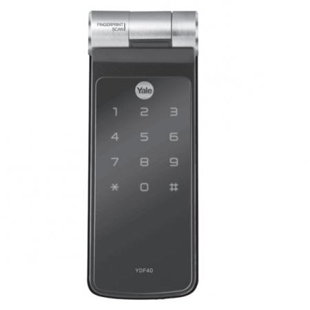 Fechadura Digital Biométrica Touch Screen Yale YDF 40