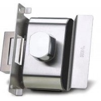 Fechadura Porta de Vidro HDL PV90 1R-B AF 1 Folha-Recorte - Abre para fora