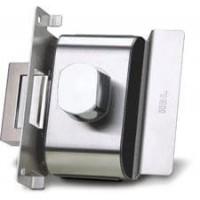 Fechadura Porta de Vidro HDL PV90 1F-B AF 1 Folha-Furos Abre para Fora