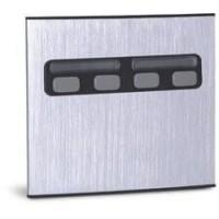 Módulo Externo de 4 Botões Duplo 4U para Porteiros Coletivos HDL