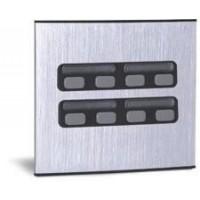 Módulo Externo de 8 Botões Duplo 8 para Porteiros Coletivos HDL