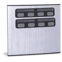 Módulo Externo de 8 Botões Duplo 8C para Porteiros Coletivos HDL
