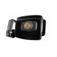 Fechadura Elétrica AGL Mini 42mm Chave Tetra 12V Preta