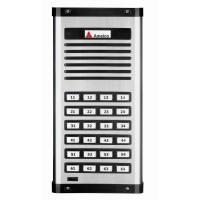 Porteiro Eletrônico Coletivo Amelco 24 Pontos Unidade Externa AM-PPR24