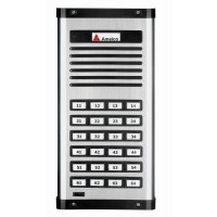 Porteiro Eletrônico Coletivo Amelco 32 Pontos Unidade Externa AM-PPR32