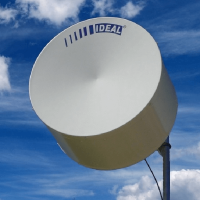 Antena Microondas Parabólica Radome Standard 0,6m Dupla Polarização 4,9 - 6,1GHz 30 DBI Mimosa C5X