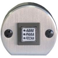 Botoeira THEVEAR com 1 Botão Frente de Alumínio THBCN