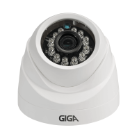 Câmera Open HD Plus GS0012 720p Dome IR 20m Giga Security