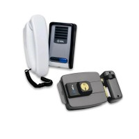 Kit Interfone HDL+ Fechadura C-90 + 100m cabo