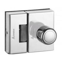 Fechadura porta de vidro 2 Folh-furos AMELCO Abre para dentro - FV35ICR