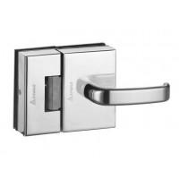 Fechadura porta de vidro 2 Folh-recorte AMELCO Abre para dentro - FV32ICRA