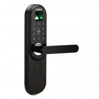 Fechadura Digital Unee Tech Bio Pro Biometria, senha e cartão Lado Direito - UFDTBPD