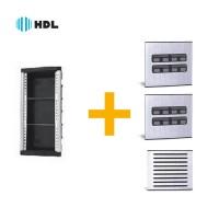 Kit Completo Porteiro Coletivo HDL 16 Pontos