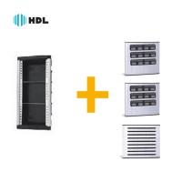 Kit Completo Porteiro Coletivo HDL 24 Pontos