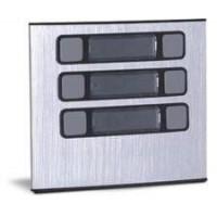 Módulo Externo de 6 Botões Único 6U para Porteiros Coletivos HDL