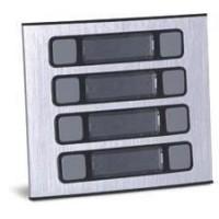Módulo Externo de 8 Botões Único 8U para Porteiros Coletivos HDL 90.02.01.527