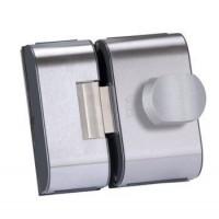 Fechadura para Porta de Vidro HDL PV90 2R-B Inox 2 Folhas e Recorte