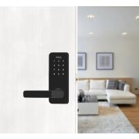 Fechadura Digital Papaiz Smart Lock Preta - Lado Esquerdo