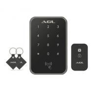 Fechadura Digital AGL Smart X Senha, cartão e controle Remoto