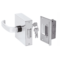Fechadura Eletromagnética Porta Vidro/Alve e Furação Thevear THF-V/A-F