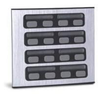 Módulo Externo de 16 Botões Duplo 16 para Porteiros Coletivos HDL