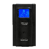 Nobreak MCM Evolution UPS 1300 com LCD 1.1 1300VA UPS0156