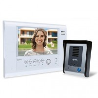 Vídeo Porteiro HDL com tela Touch screen SENSE Seven S Branco