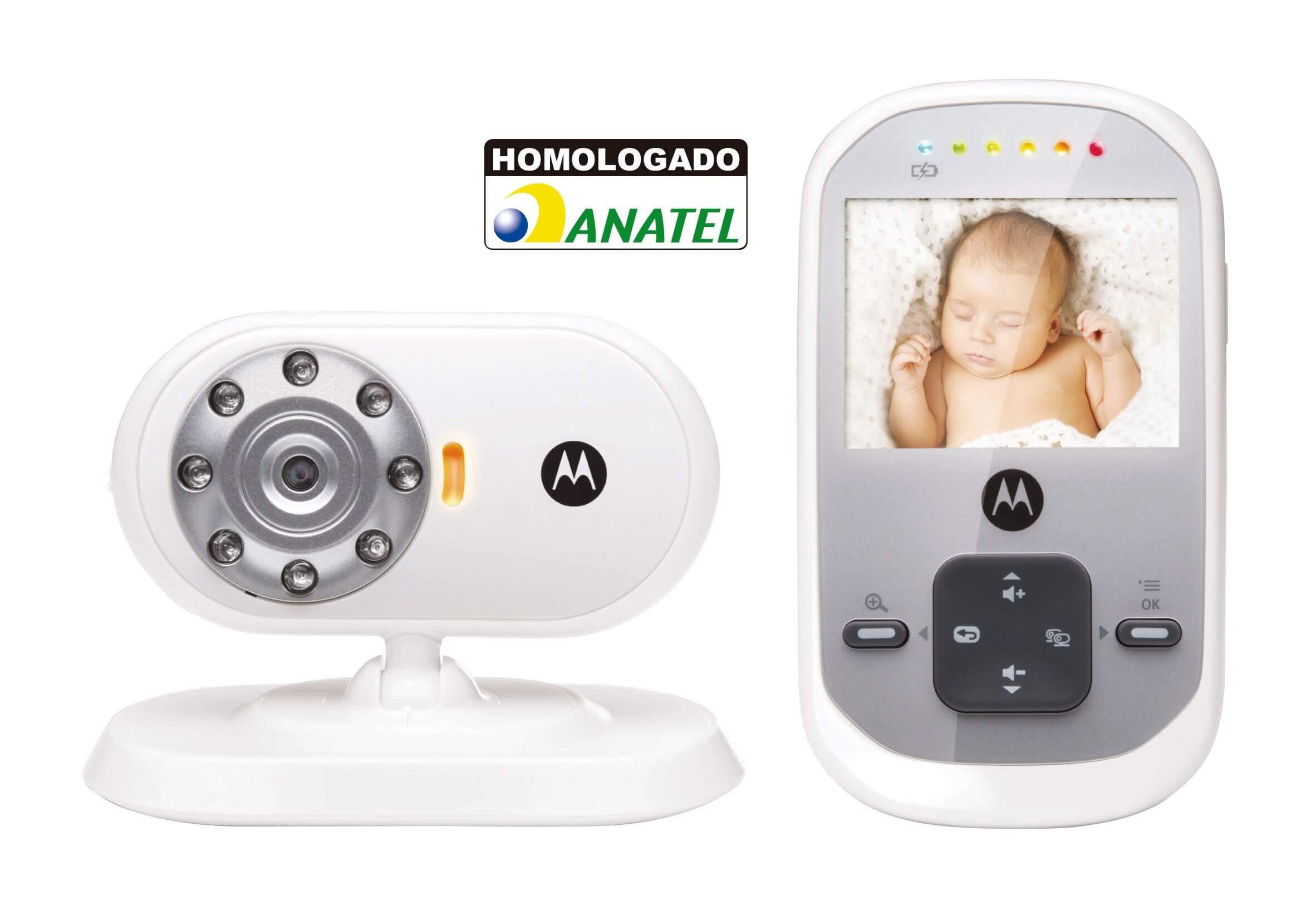 Babá Eletrônica Motorola com WiFi com Vídeo MBP622
